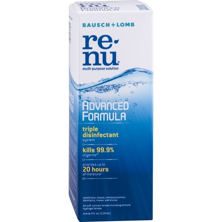 renu Advanced Formula Contact Lens Solution 4 FO