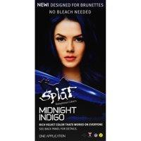 Splat 30 Wash No Bleach Semi-Permanent Hair Dye Midnight Indigo Blue