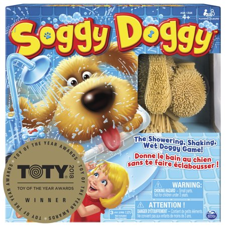 Soggy Doggy Board Game for Kids with Interactive Dog Toy](Board Game Costume Ideas)