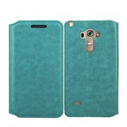 LG G Stylo Case, LG G Vista 2 Case, Magnetic Flip Fold[Kickstand