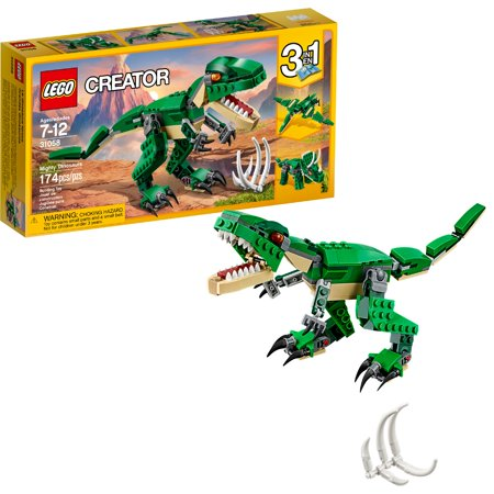 LEGO Creator Mighty Dinosaurs 31058 - Lego Shaped Candy