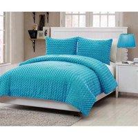 VCNY Home Rose Fur Bedding Comforter Set