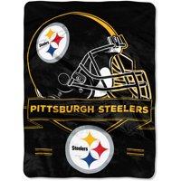 "NFL Pittsburgh Steelers ""Prestige"" 60"" x 80"" Raschel Throw"
