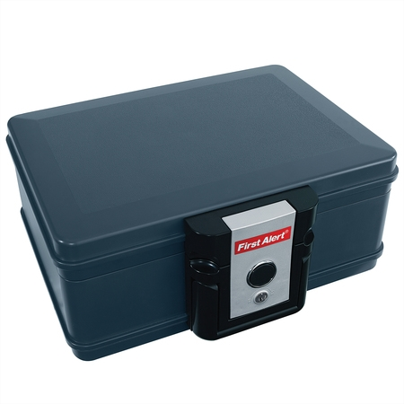 - First Alert 2013F Water and Fire Protector File Chest, 0.17 Cubic Feet