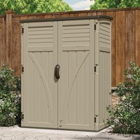 Suncast 4 ft. 5 in. W x 2 ft. 9 in. D Plastic Vertical Tool Shed