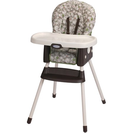 Unassembled High Chair (Graco SimpleSwitch 2-in-1 Convertible High Chair, Zuba)