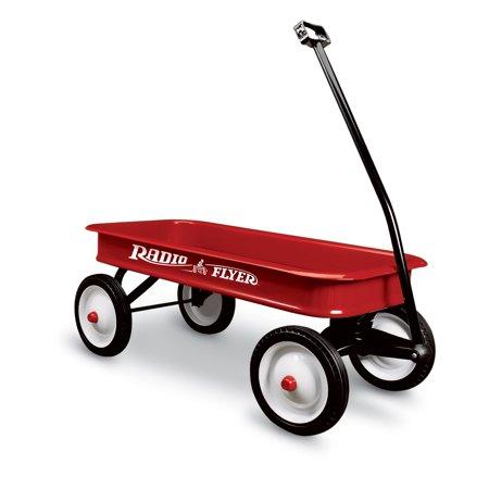- Radio Flyer, Original Classic Red Wagon, Steel Body, Red
