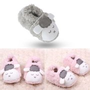Kacakid Cute Baby Boy Girl Soft Comfy Shoes Winter Warm Bootie Slipper Crib Shoes