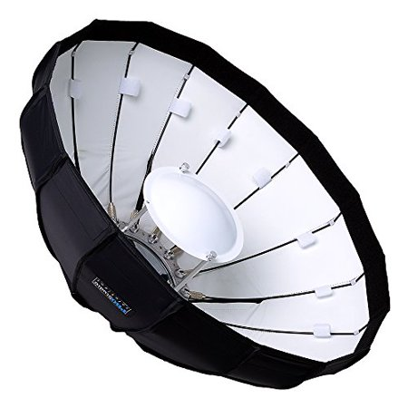 Pro Studio Solutions EZ-Pro 24in (60cm) Beauty Dish and Softbox Combination with Speedotron Speedring