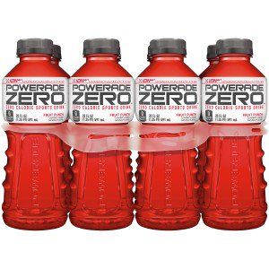 (3 pack) Powerade Zero ion4 Sports Drink, Fruit Punch, 20 Fl Oz, 8 Count](Halloween Party Punch Drinks)