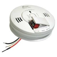Kidde Firex AC Hardwired Combination Carbon Monoxide & Photoelectric Smoke Alarm KN-COPE-IC