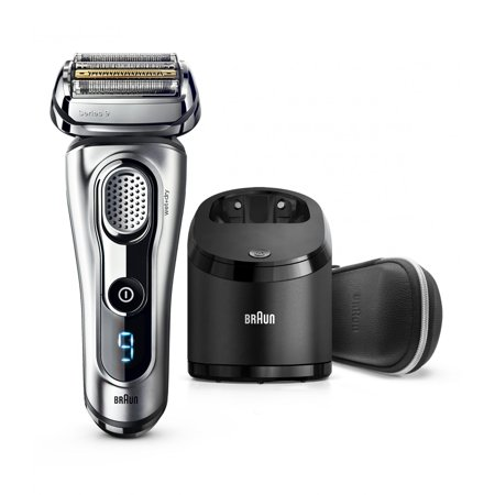 - Braun Series 9 9290cc ($80 Mail in Rebate Available) Men's Electric Foil Shaver, Wet and Dry Razor with Clean & Charge Station