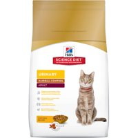 Hill's Science Diet (Spend $20,Get $5) Adult Urinary & Hairball Control Chicken Dry Cat Food, 7 lb bag (See description for rebate details)