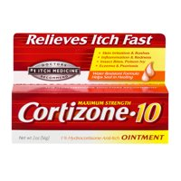 Cortizone 10 Anti-Itch Ointment 2oz, Value Size