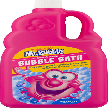 (2 pack) Mr. Bubble Original Bubble Bath, Classic Bubble Gum Scent, 36 (Best Bubble Bath Products)