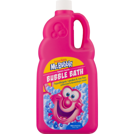 (2 pack) Mr. Bubble Original Bubble Bath, Classic Bubble Gum Scent, 36 Oz ()