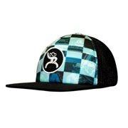 HOOey Hat Mens Truck Cap Roughy Mesh Back One Size Black 4332T-BKBL 7029f122ac51
