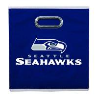 Franklin Sports NFL Seattle Seahawks Collapsible Storage Bin