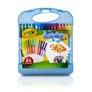 Crayola Super Tips Washable Markers Art Kit, 65 Pieces