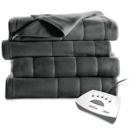 Sunbeam Fleece Electric Heated Blanket, 1 - Queen Size Electric Blankets