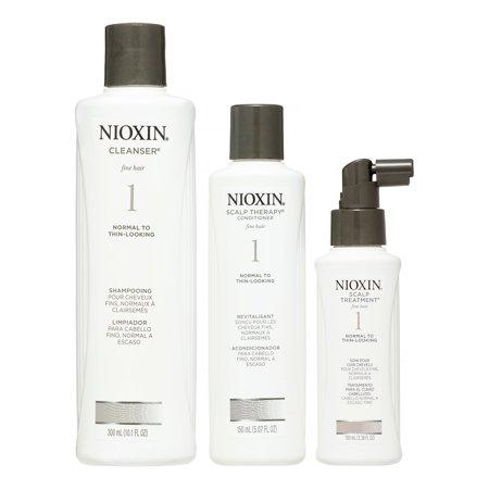 Nioxin Nioxin System 1 Thinning Hair Kit Walmart Com