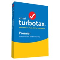 TurboTax Premier 2018 Federal + Efile + State (PC/Mac Disc)