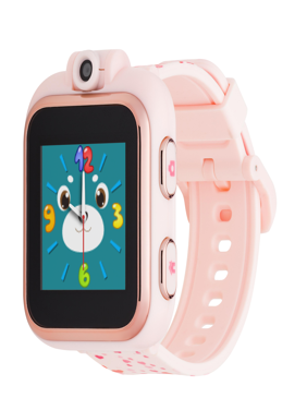 iTouch Playzoom Kids Smart Watch Blush with Hearts Pattern