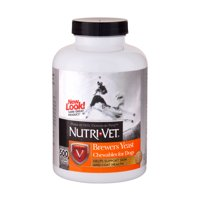 Nutri-Vet Brewers Yeast with Garlic Chewables 500ct