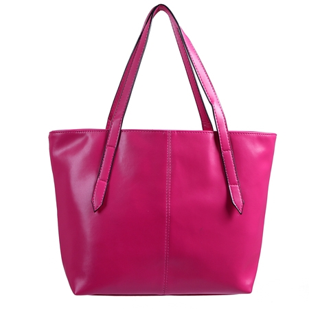 Women's Handbag Leather Carryall Tote ()