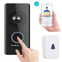 Home Door Ring WiFi Wireless Visual Camera,Night Vision Camera Doorbell Smart Doorbell Security