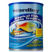Wardley Tropical Fish Food Flakes, 6.8 oz.