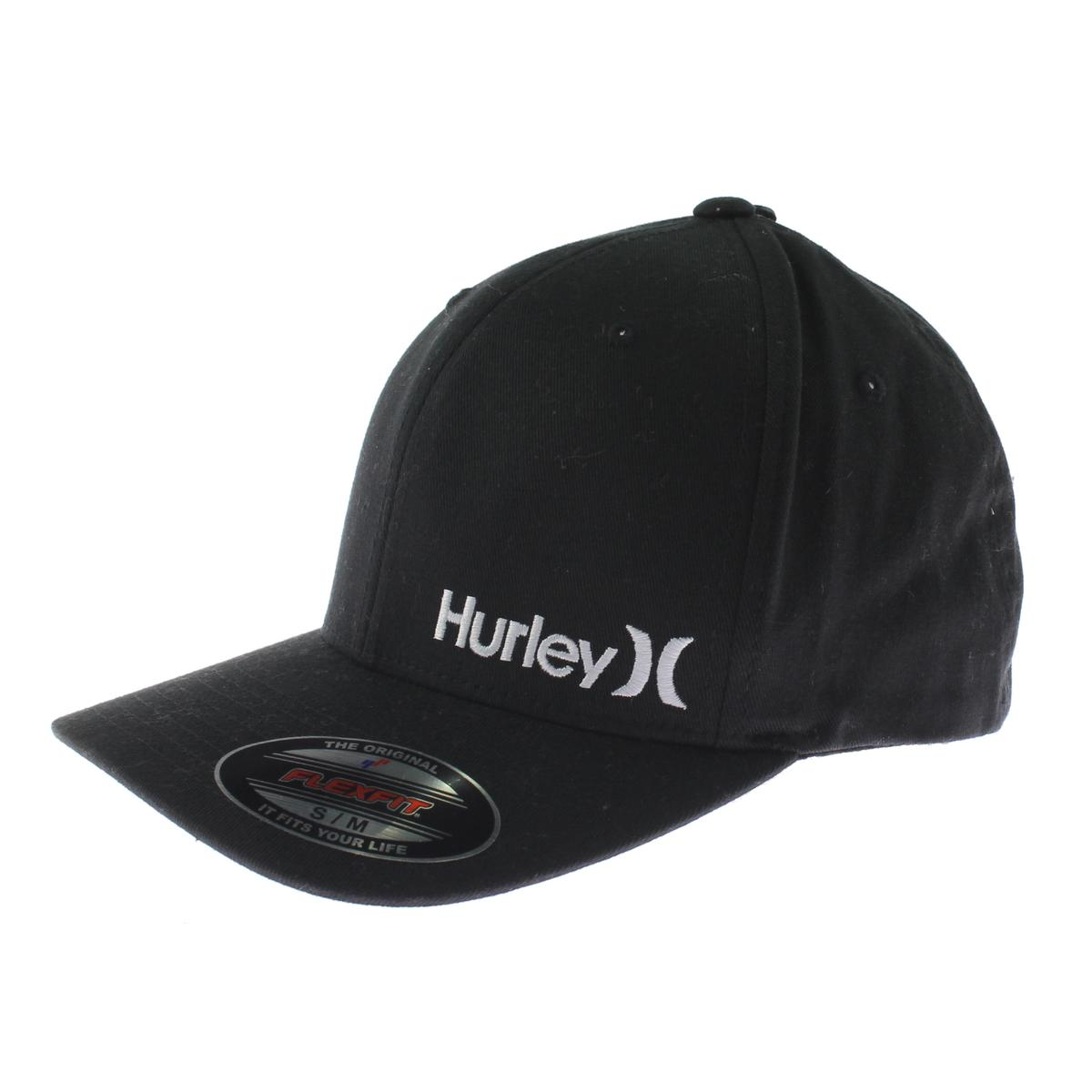 e7e27a9e ... promo code for hurley mens flex fit embroidered ball cap a658e 0b382