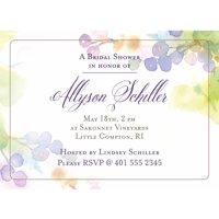 Product Image Vineyard Standard Bridal Shower Invitation
