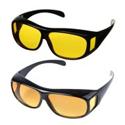 Day and Night HD Vision Wraparounds Sunglasses Combo Pack cdbee5c53c