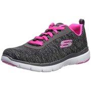 low priced 8ea12 62e3f Skechers Women s Flex Appeal 3.0-INSIDERS Sneaker bkg 10 W US