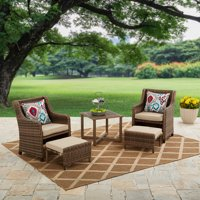 Better Homes & Garden Hawthorne Park 5 Piece Outdoor Chat Set