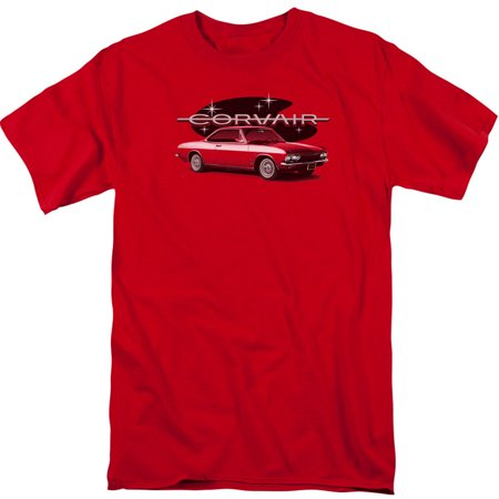 Chevy Men's  65 Corvair Mona Spyda Coupe T-shirt (Best Couple Printed T Shirts)