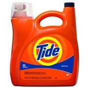 Tide Liquid Laundry Detergent, Original, 96 Loads, 150 fl oz