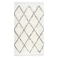 nuLOOM Hand-Knotted Fez Shag Area Rug