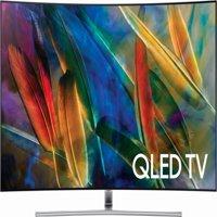 "Refurbished Samsung 65"" Class 4K (2160p) Curved QLED TV (QN65Q7CDMFXZA)"