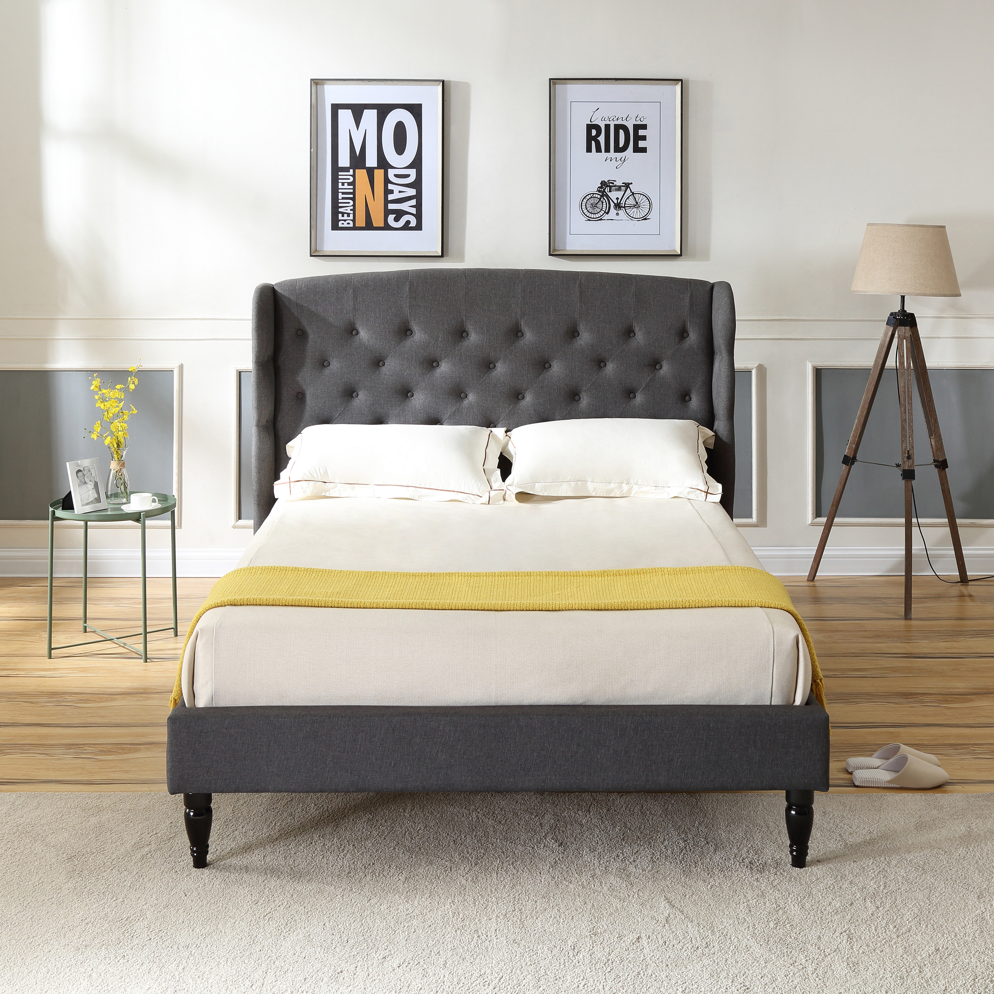 Storage Bed With Headboards