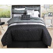 Hometrends Geo Mesh Bedding Comforter Set