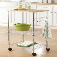 Mainstays Multi-Purpose Kitchen Cart, Multiple Colors