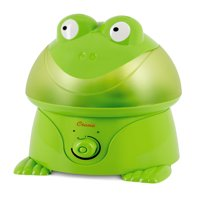 Crane - Adorable Ultrasonic Cool Mist Humidifier Frog - EE-3191, Green