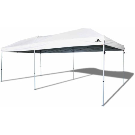 Ozark Trail 20' x 10' Straight Leg Instant Canopy (200 sq. ft (Best Easy Up Canopy)