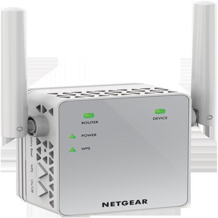 NETGEAR AC750 WiFi Range Extender (EX3700-100PAS) - Best