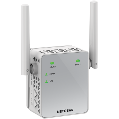 Long Range Wifi Access Point - NETGEAR AC750 WiFi Range Extender (EX3700-100PAS)