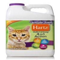 Hartz Multi-Cat Strong Lavender Scent Clumping Cat Litter, 20-lb