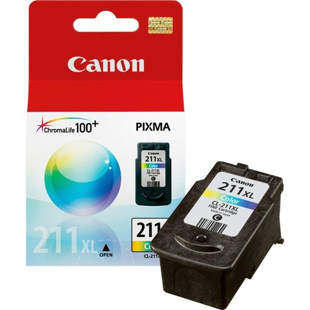 Canon - Ink tank - CL-211XL Co