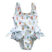 4461a2aafb Kids Baby Girls Swimsuit Toddler Bikini Bow Swimwear Beach Bathing Suit 1-5T